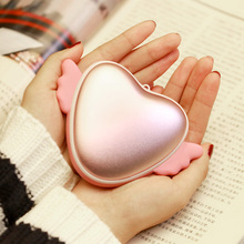 Wholesale Electric Double Side heater USB Rechargeable Hand Warmer Power Bank for smartphone