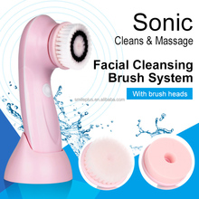 OEM Electric Facial Brush Skin Cleansing Brush Beauty Care sonic massager