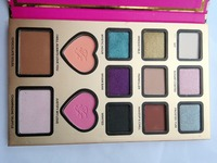 13colors make up cosmetics eyeshadow two face eyeshadow palette private label eyeshadow palette