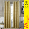 OKTEX 100 approved wholesale Finished Curtains fancy window curtain