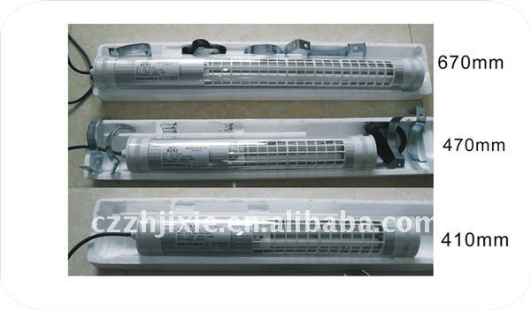 Machine Tool Fluorescent Lighting