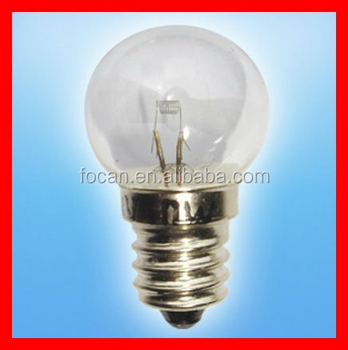 E10 screw base flashlight bulb with 3w for Lampen 8v 3w