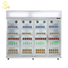 Supermarket used beverage soft drink cold room refrigerator freezer