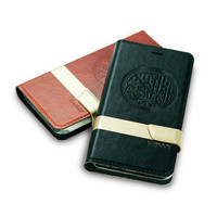 Classic PU Leather Quran Phone Cover for Micromax mobile phone case