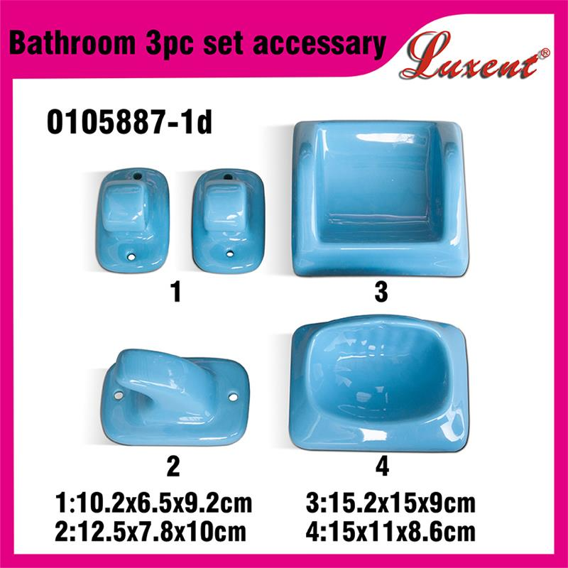 hot new products for 2016 cheap price 3pcs ceramic accessory bathroom with high quality
