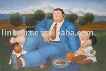 ArtisticOil Painting Botero Oil Painting