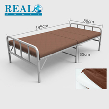 Adjustable home furniture steady metal murphy folding bed with comfortable mattress