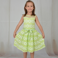 cheap girl pageant lace dress