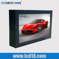 19 inch wall mounted digital signage lcd display outdoor advertising