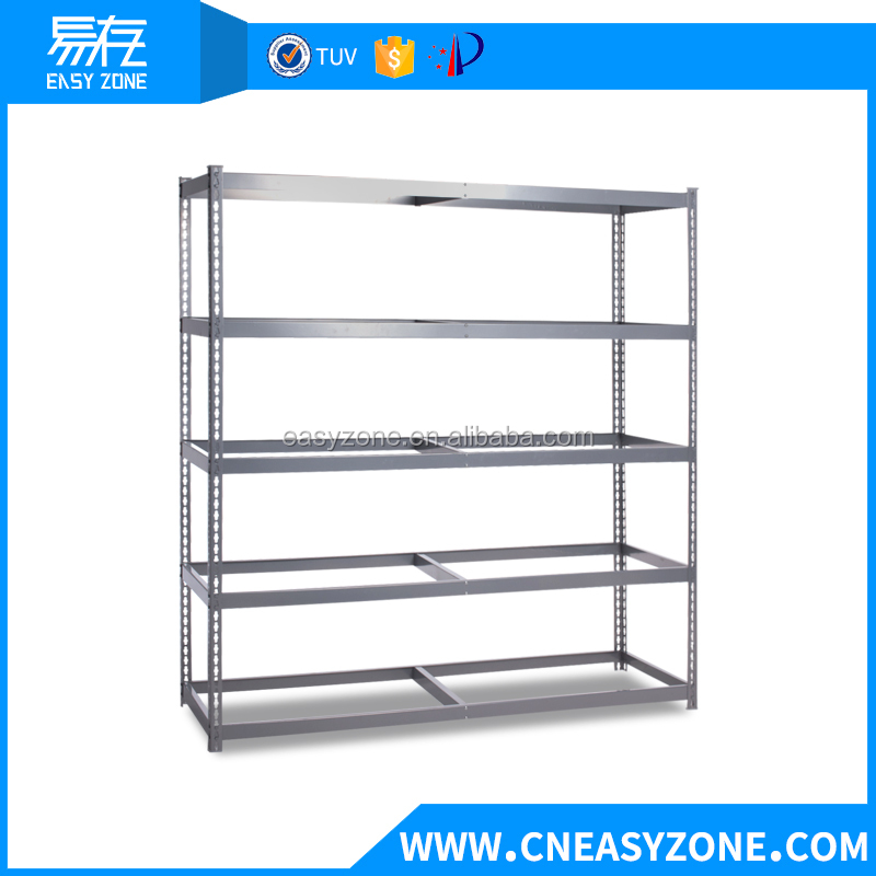 YCWM1707-0635 metal heavy duty warehouse display storage rack with 350kg/tier about 5 tier steel wire shelving