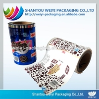 Food grade safety multilayer packaging film printed