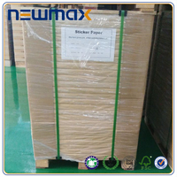 Mirror Glossy Printing Label Paper 8000 Sheets In Pallet