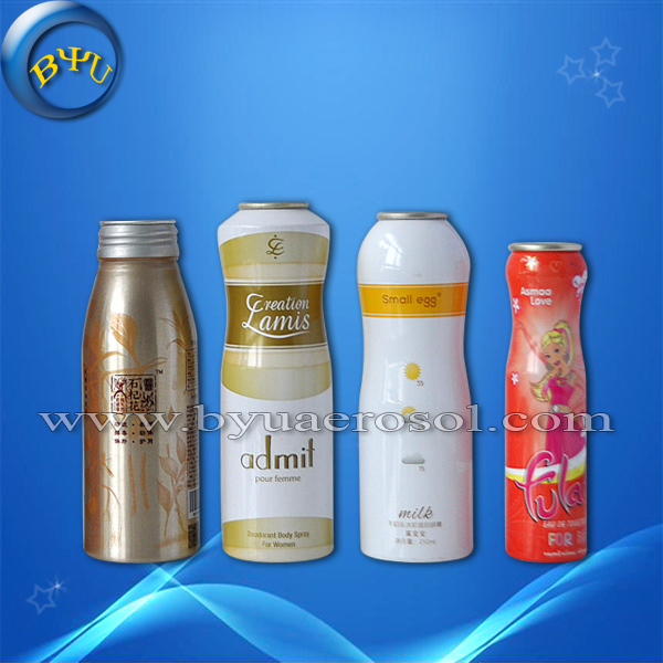 Aluminium aerosol can with valves for silicon spray/aerosol aluminum can