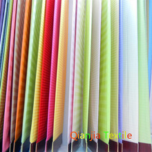 100% cotton satin strip fabric for bed sets in hotel or hospital or home