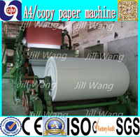 2016 hot Zhengzhou guangmao high efficiency a4 paper making machine,a4 paper make from cotton with high quality and best service