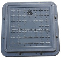EN124 plastic cover box composite electrical manhole covers with 316L accessory