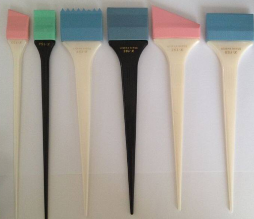 hot selling silicone hair color hairdressing tint brush