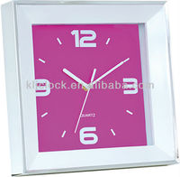 Wall Painting Clocks Purple Color