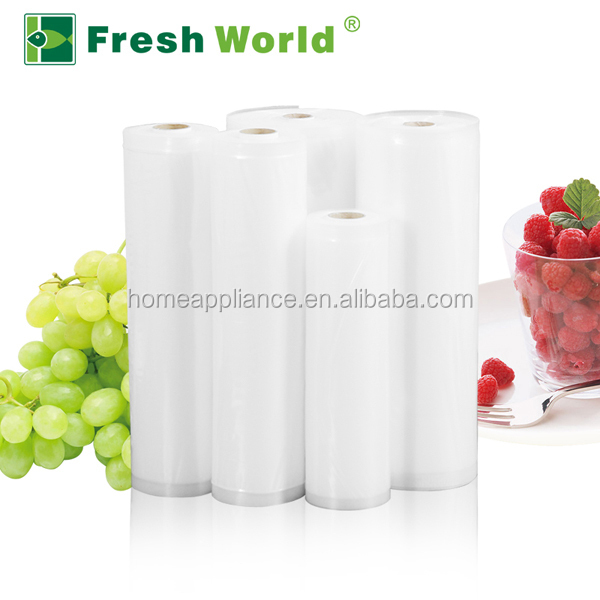 vacuum bag for food container for food storage , Quality transparent food grade vacuum sealer bag rolls