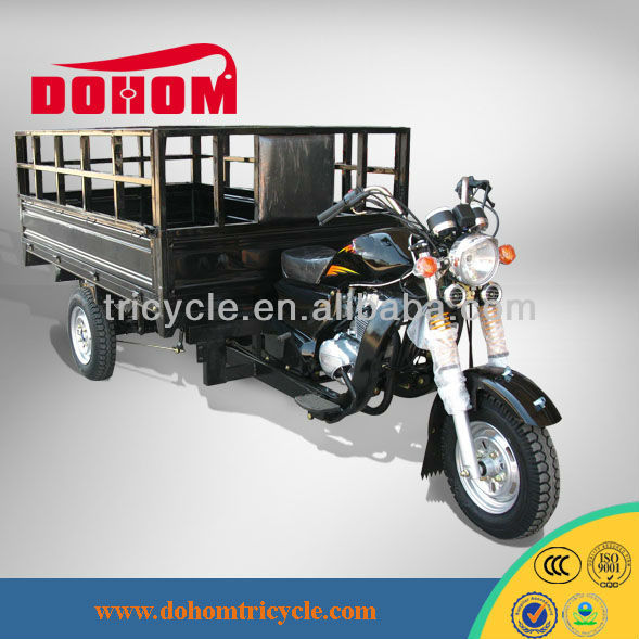 Hot quad cargo pedicab three wheel cargo motorcycles gasoline cargo tricycle
