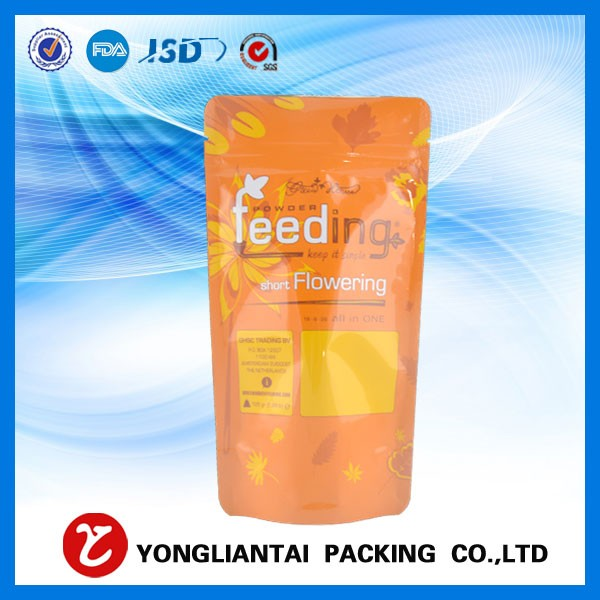 BSCI custom printed resealable ziplock decorative food packaging bags