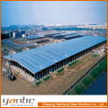 ISO9001:2008 Certificate Industrial Shed Light Steel Frame Structure Factory