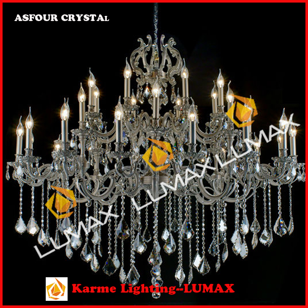 Dining room crystal chandelier LED Pendant Light Hanging Lamp for Restaurant Home Decor