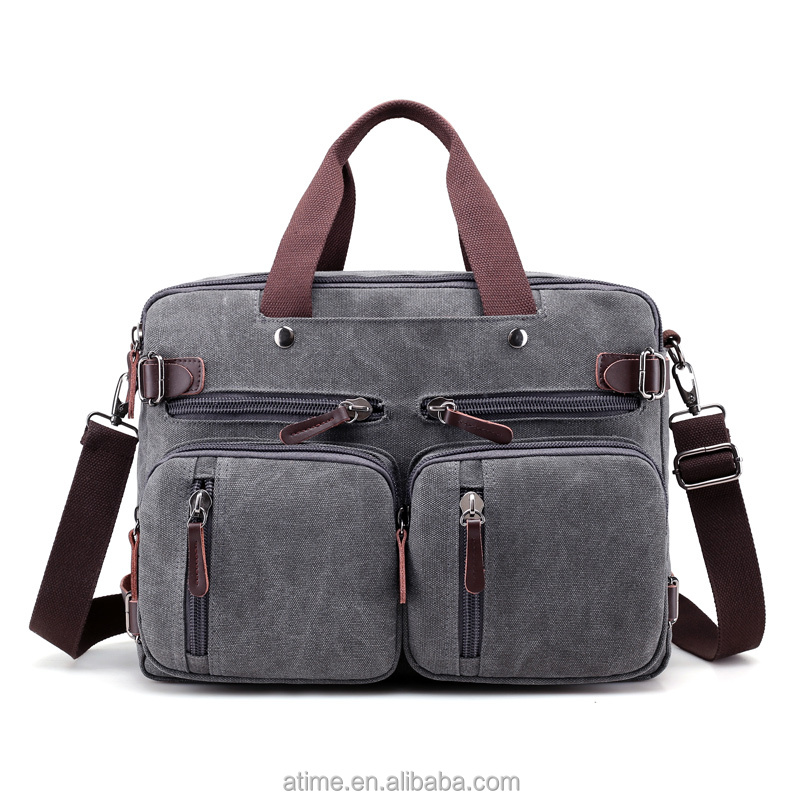 Original <strong>design</strong> of the new trend of Leisure Canvas men's handbags