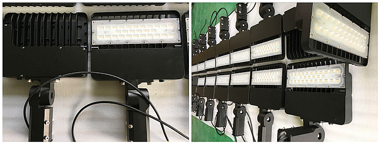 Parking lots pole 100w 150w 200w LED Shoebox Street Light 3030 chips