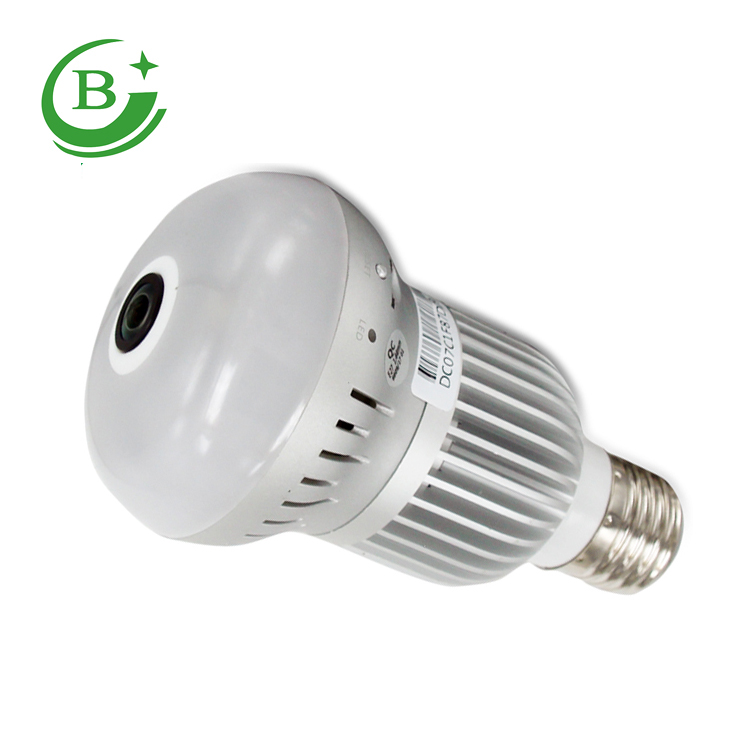 Is the light and the camera Is anti-theft device magic LED bulb