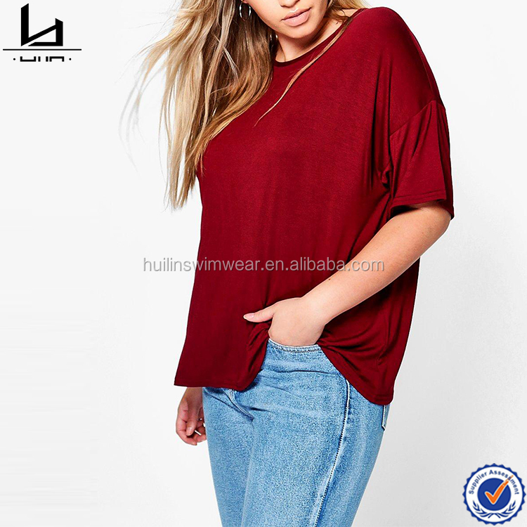 Women wholesale shopping clothes women plus size tee designer clothing manufacturers in China