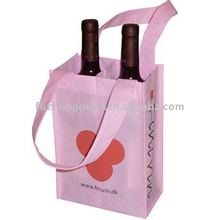 eco-friendly non-woven bottle bag
