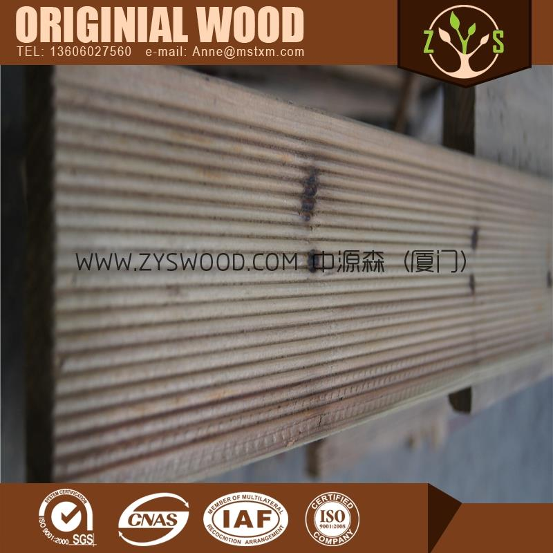Hot selling carbonized wood/ thermowood Finger Joint Board Series with high quality