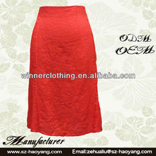 sexy woman skirt high waist A-Line 100% linen pictures of long skirts with split