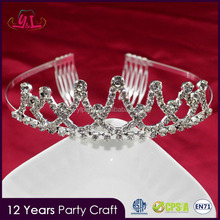 2017 New Premium Princess Wedding Bridal Crystal High Quality Tiara