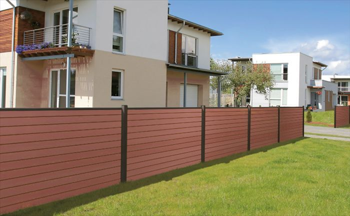 Wood Plastic Composite Fence WPC Fence Board