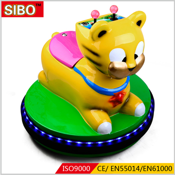 SIBO Amusement Park Equipment Battery Operated Bumper Car Racing For Kids Game
