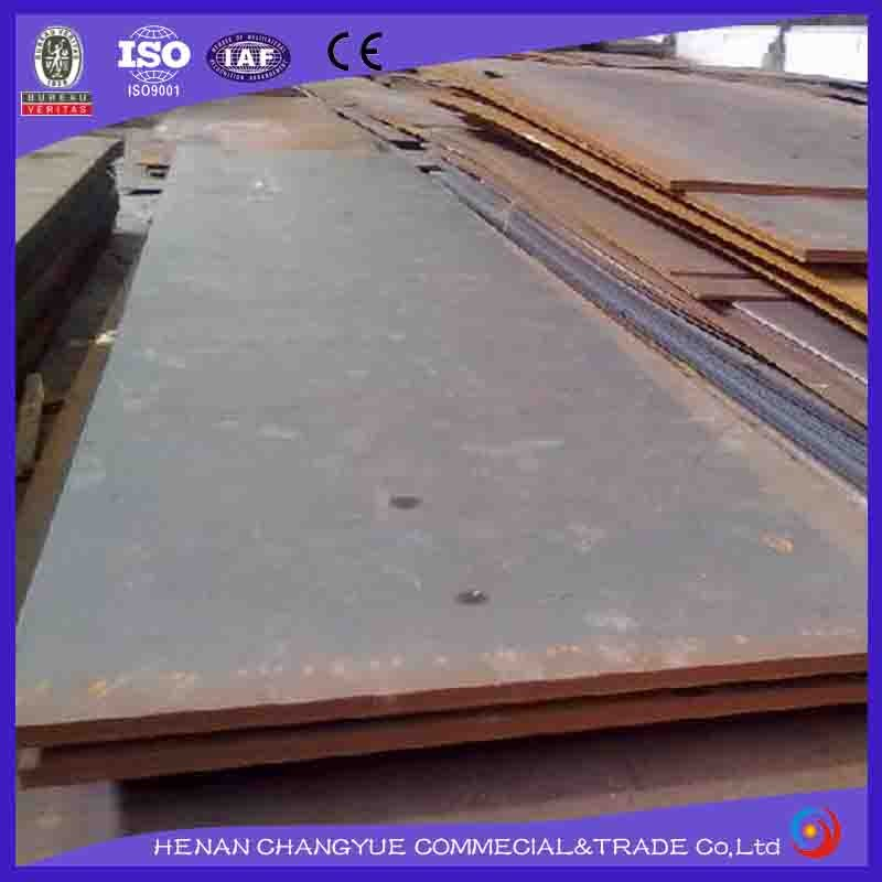 Hot rolled high tensile strength ship hull steel plate