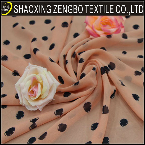 custom beautiful bulk chiffon fabric for making dresses