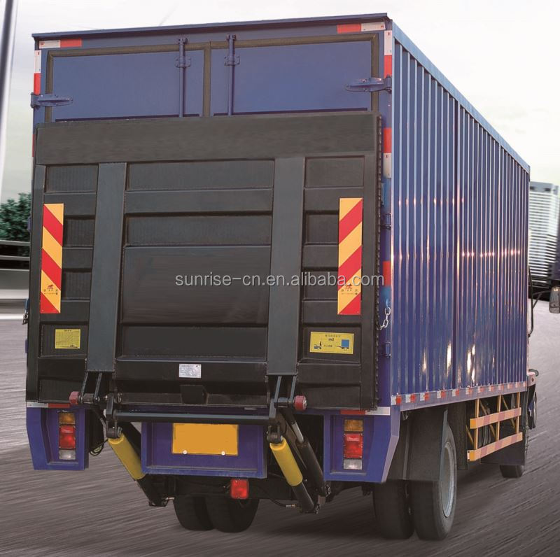 Hot selling lorry tail lift frp honeycomb dry box body