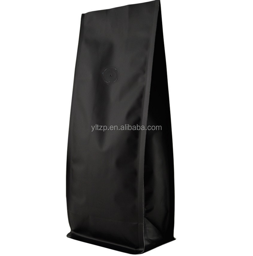 Contact Supplier Chat Now! Side Gusset Plastic Coffee Packaging Bag For Coffee Bean Bag