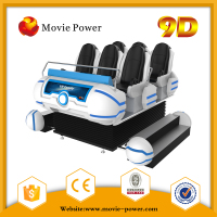 Electric Platform 6 Seats 9d Vr Cinema With Exclusive Movies And Games