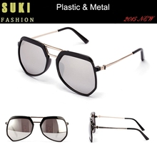 Aviator Sun Glasses Plastic Eye glasses UV400 Fashion Sunglasses