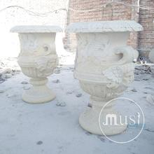 hot sale modern home decor vases stone garden