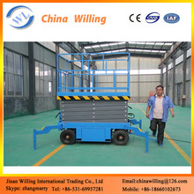 10M High quality hydraulic skyjack scissor platform lifts