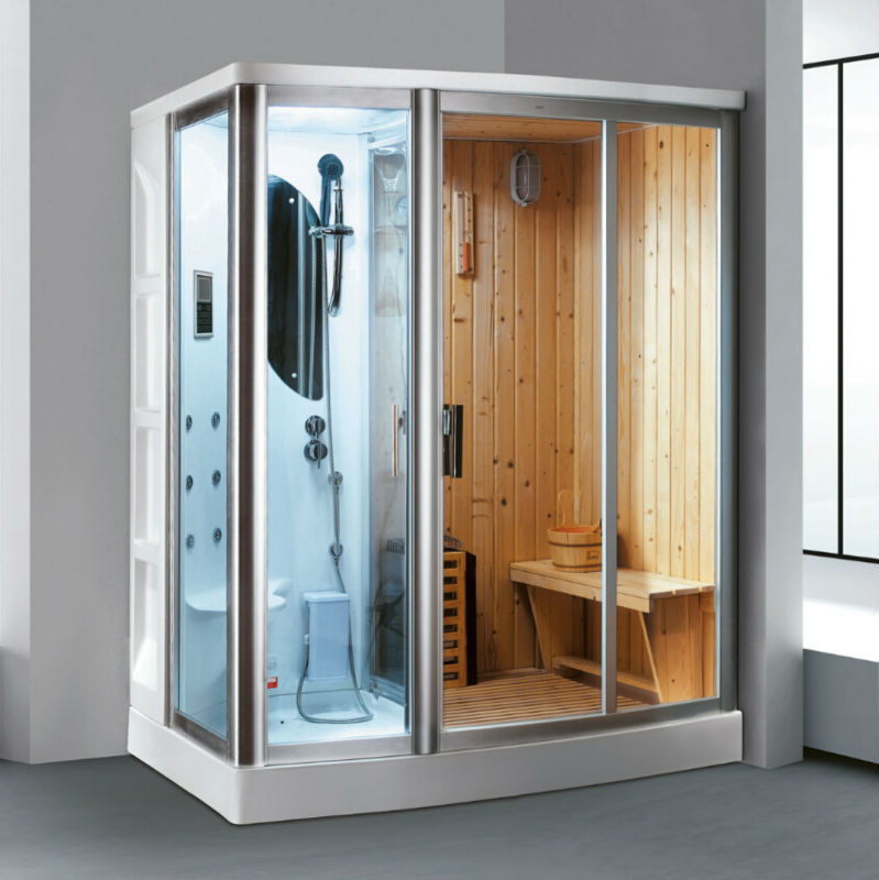 Fico new! FC-SN02,steam shower room with sauna