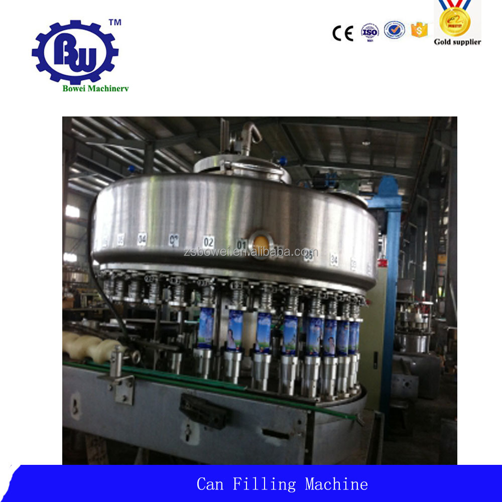 Manufacturer Price PET Can/Aluminum Can Beverage Filling Line