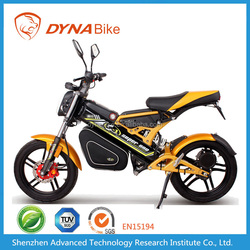 800W Motor 20Ah Battery 60Km/h Electric Motorcycle