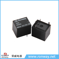 Ronway factory hot sale RWA8 12V 4pin 20A auto smart relay T78