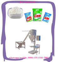 Semi automatic Detergent Powder Filling Packing Machine for sale